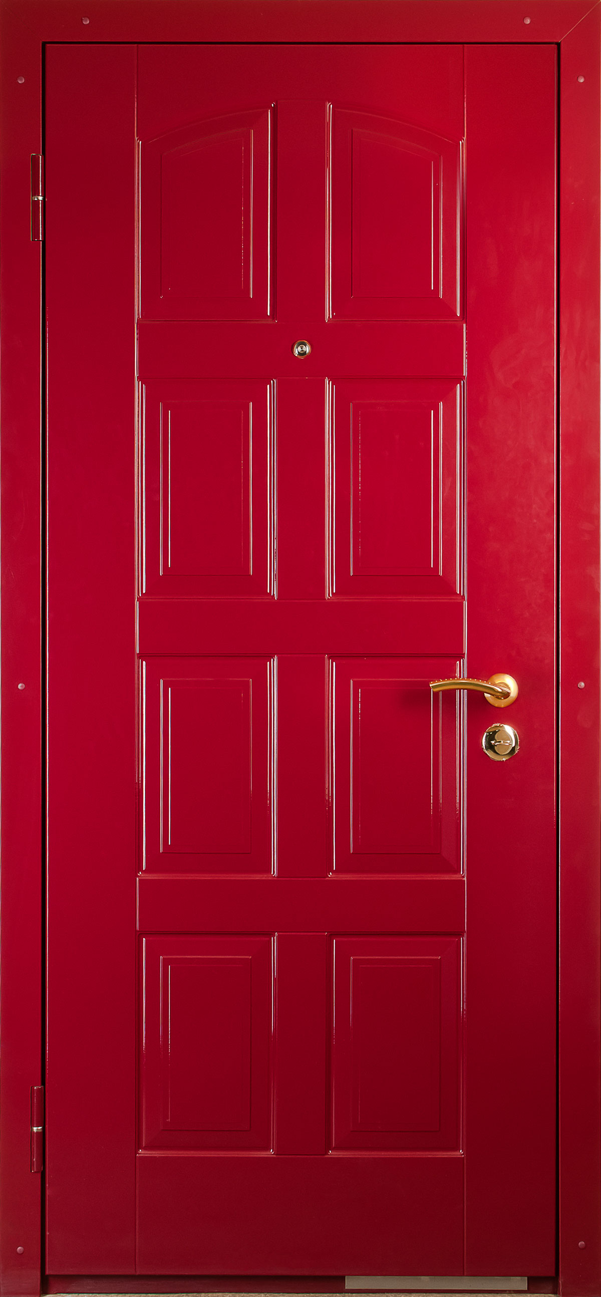 металлическая двери красная купить