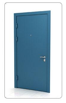 Порошковая покраска металлической двери