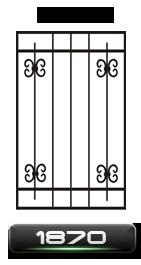 Решетки кованые